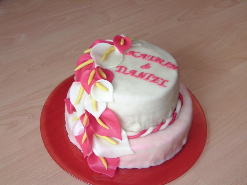 Torte für die Schwester