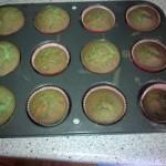 Eingefärbte Cupcakes