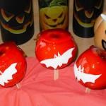 """""""blutige Äpfel für Halloween"""""""